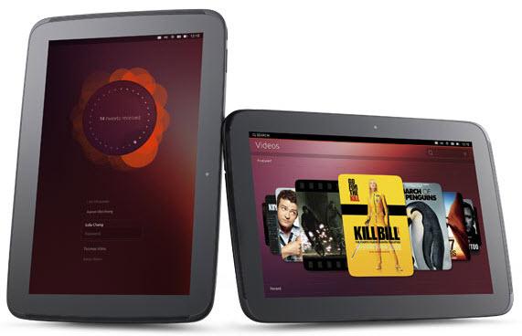 Ubuntu Tactil