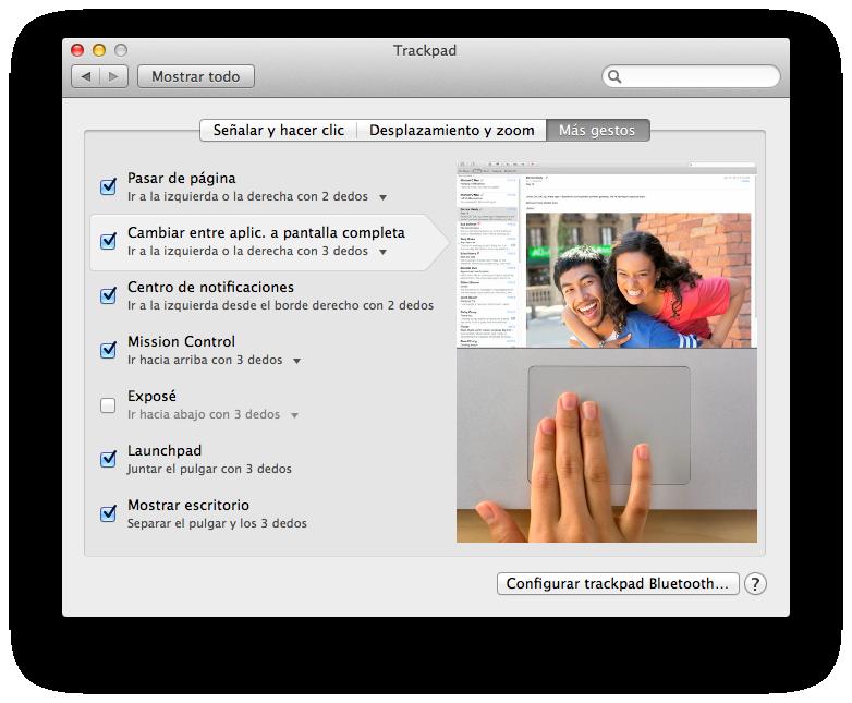 Ayuda para el manejo del TouchPad